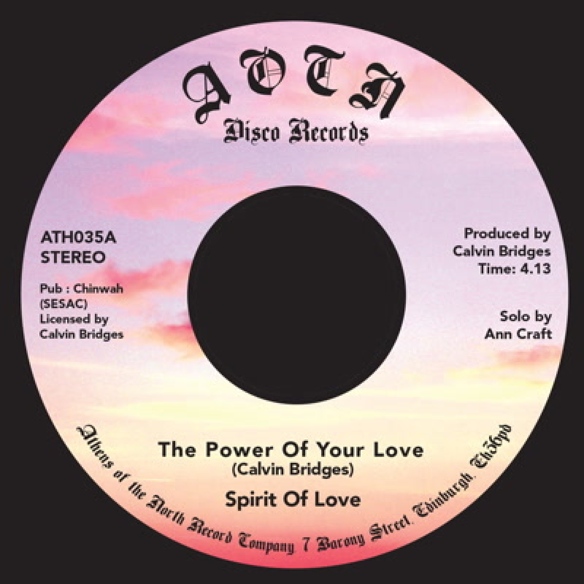The Power of Your Love / He's Alright
