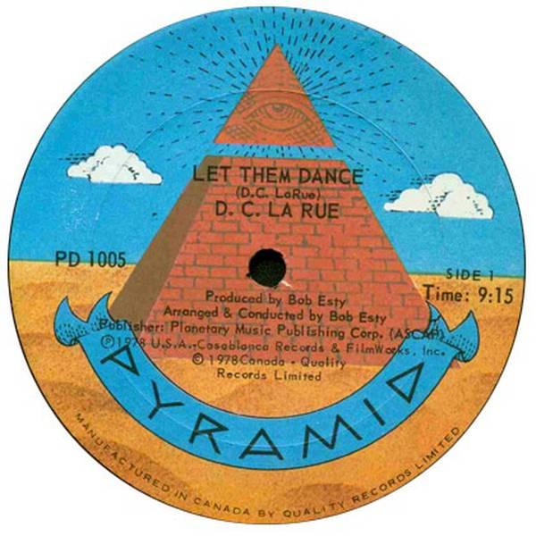 D C  LaRue - Let Them Dance - Vinyl at OYE Records