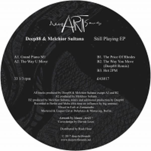 Deep88 & Melchior Sultana - Still Playing EP - Vinyl at OYE
