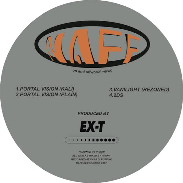Ex-Terrestrial - Portal Vision - Vinyl at OYE Records