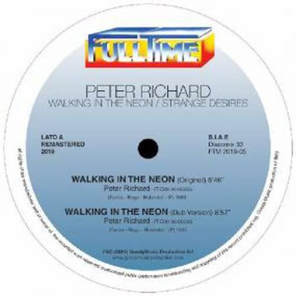 Peter Richard - Walking In The Neon: Remastered 2019 - Vinyl