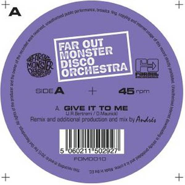 The Far Out Monster Disco Orchestra - Step Into My Life (John ...